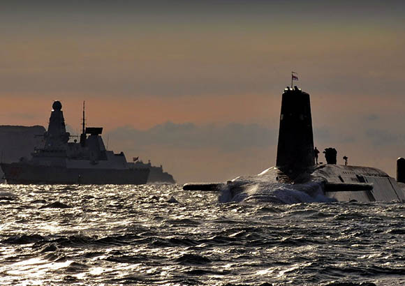 The British nuclear submarine system is vulnerable despite its projected modernization